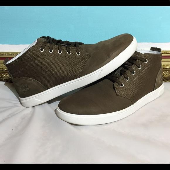 Timberland Groveton Olive Chukka Shoes